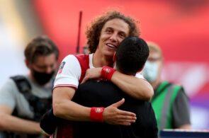 David Luiz, Mikel Arteta, Arsenal