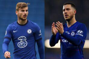 Timo Werner, Eden Hazard, Chelsea