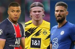 Champions League top scorers list: Haaland & Mbappe lead the way