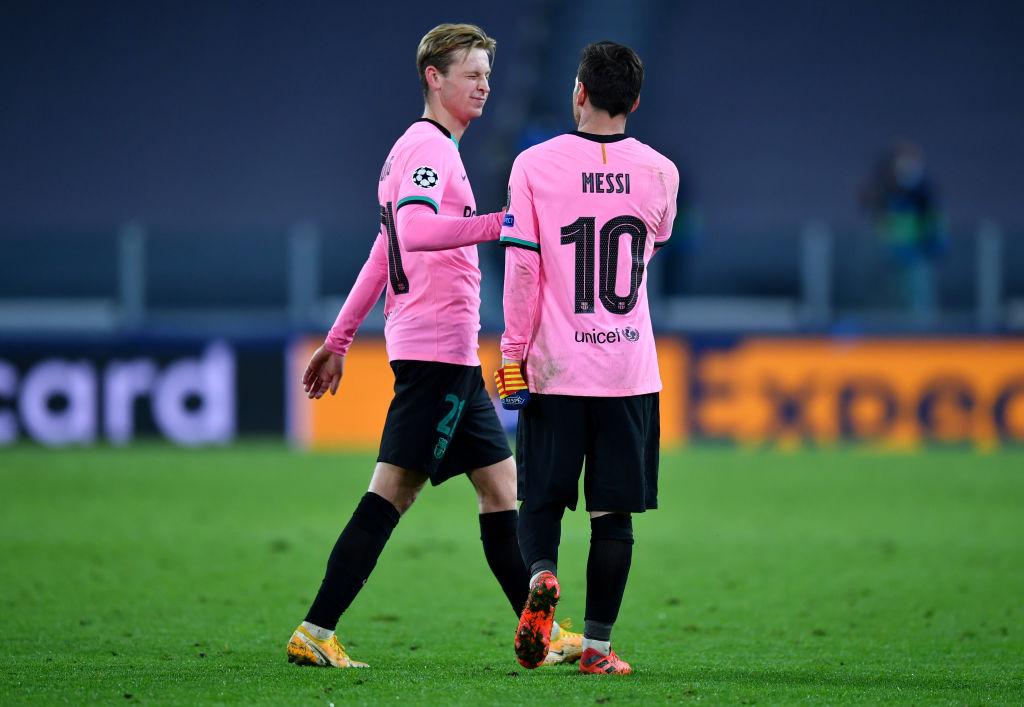 De Jong, Messi