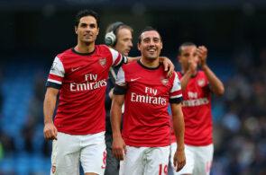 Santi Cazorla, Mikel Arteta, Arsenal