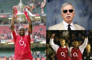 Patrick Vieira, Arsenal, Stan Kroenke, Thierry Henry, Dennis Bergkamp
