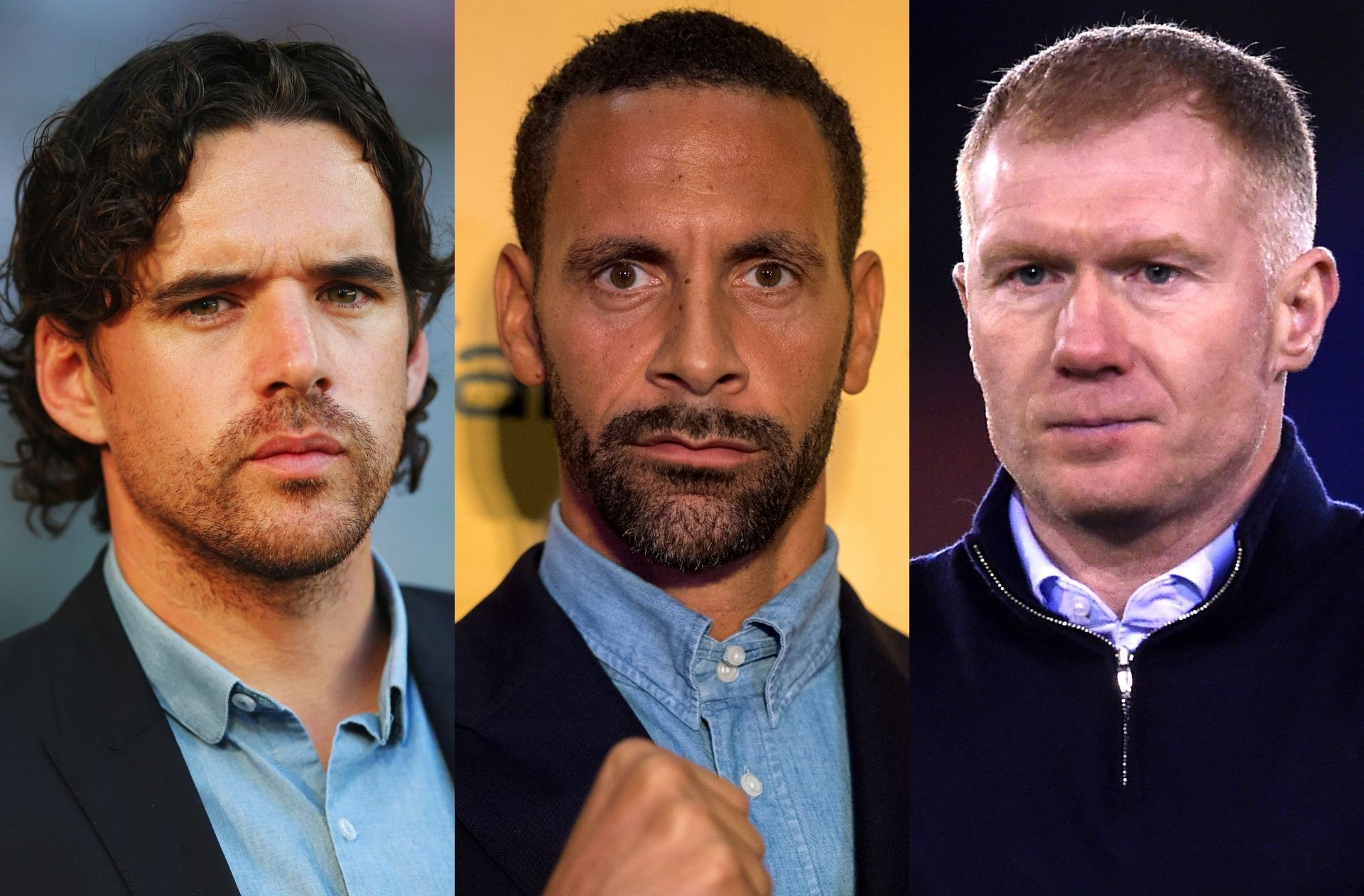Owen Hargreaves, Rio Ferdinand, Paul Scholes, Europa League