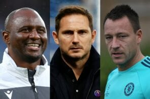Next Crystal Palace manager odds