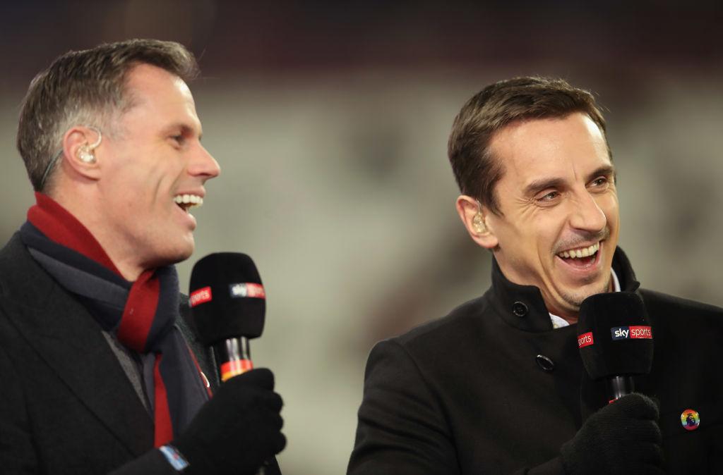 Gary Neville, Jamie Carragher, Premier League