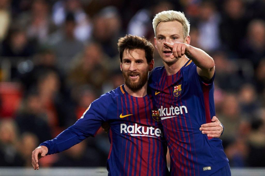 Rakitic, Messi