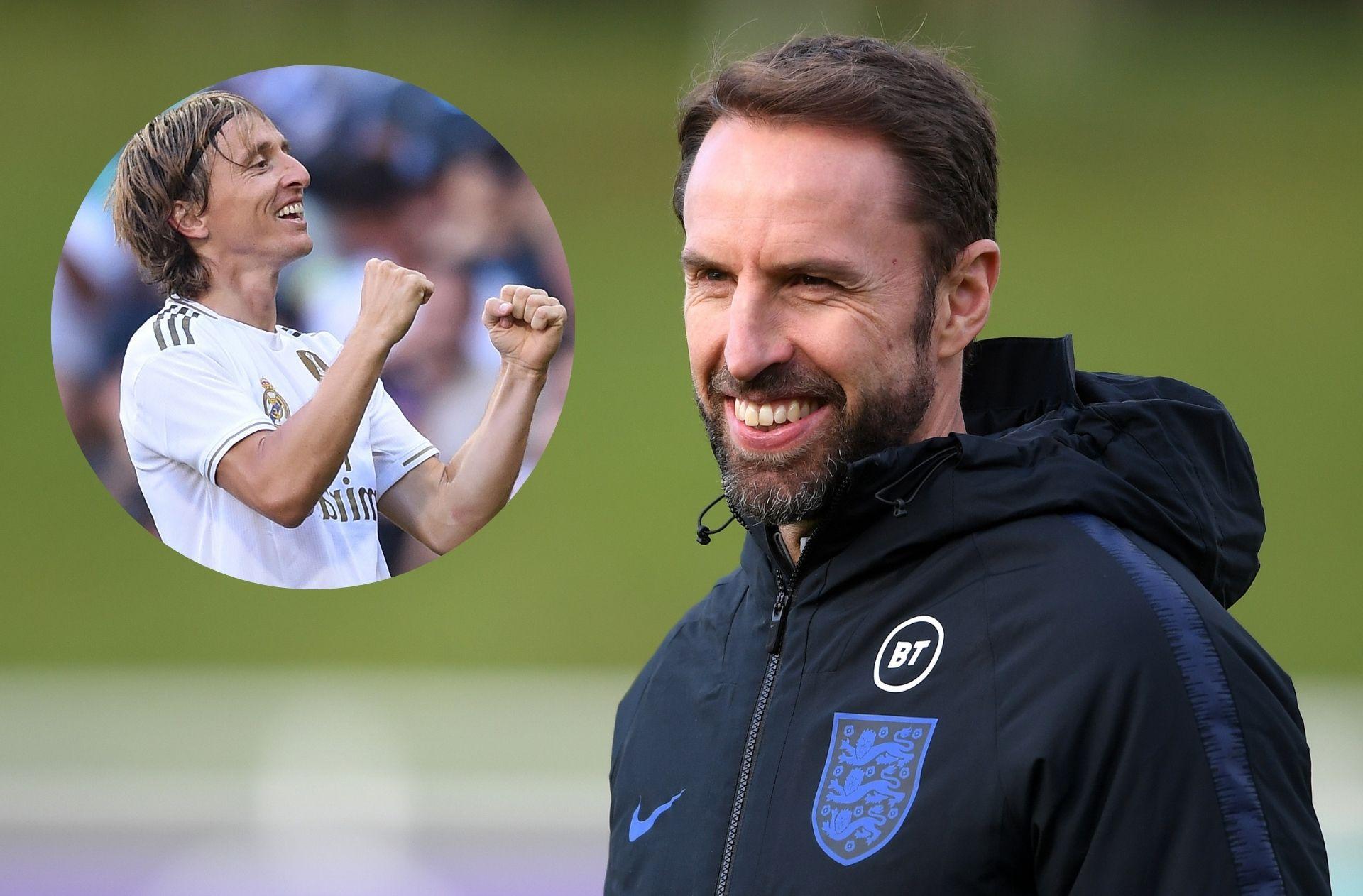 Gareth Southgate - England, Luka Modric - Croatia & Real Madrid