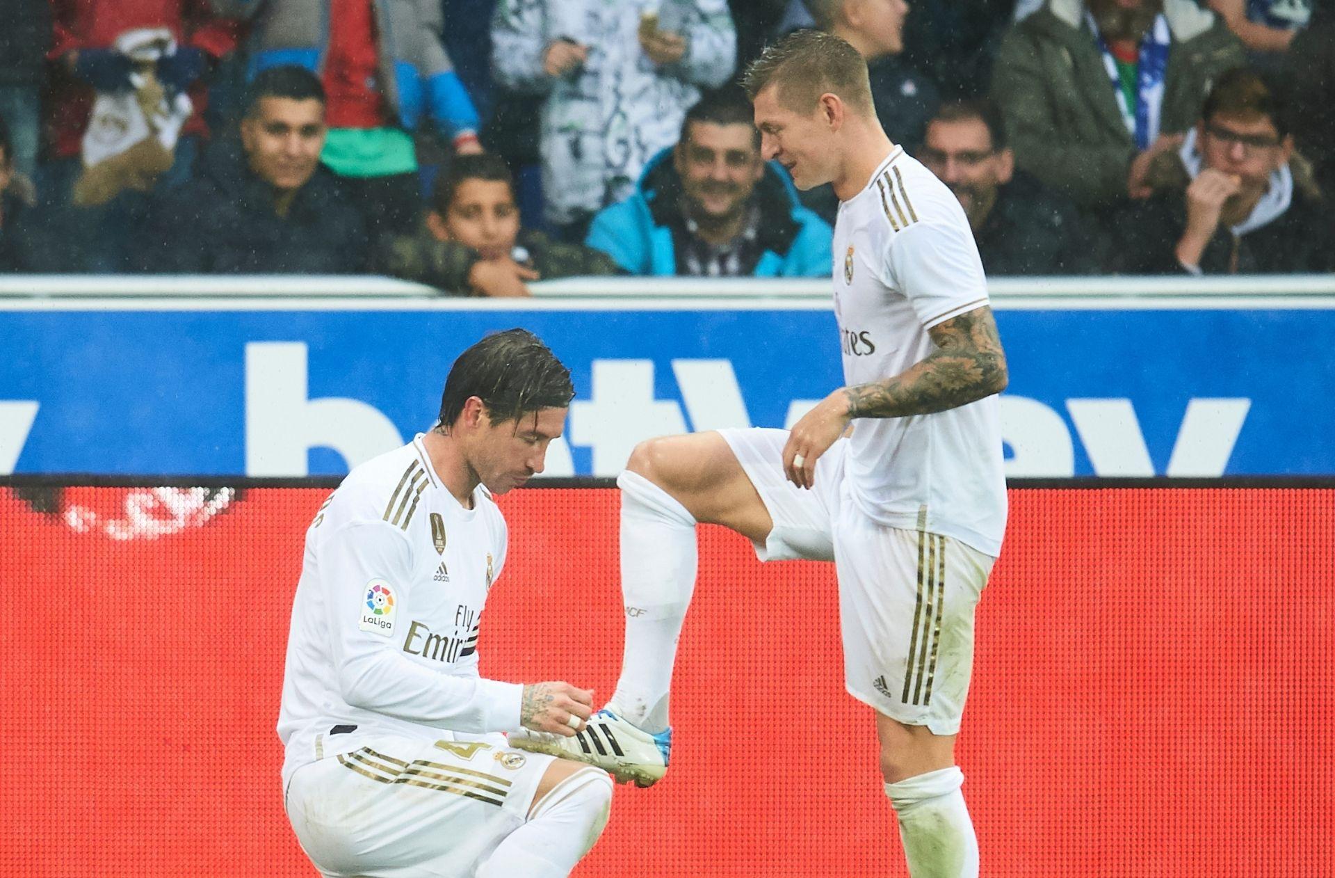 Sergio Ramos, Toni Kroos - Real Madrid