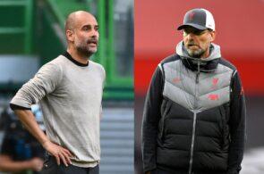 Pep Guardiola - Man City, Jurgen Klopp - Liverpool