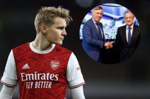 Martin Odegaard - Arsenal, Carlo Ancelotti - Real Madrid