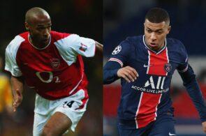 Henry - Arsenal, Mbappe - PSG