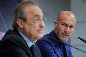 Florentino Perez, Zinedine Zidane - Real Madrid