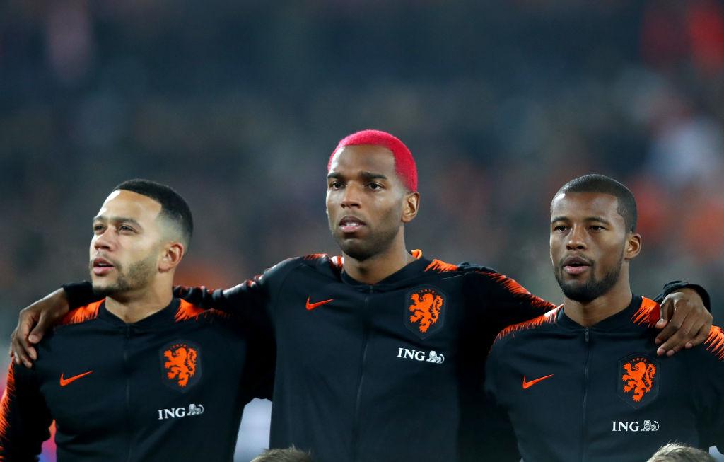 Memphis Depay, Georginio Wijnaldum, FC Barcelona