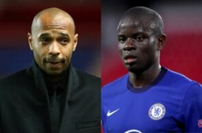 Thierry Henry, N'Golo Kante