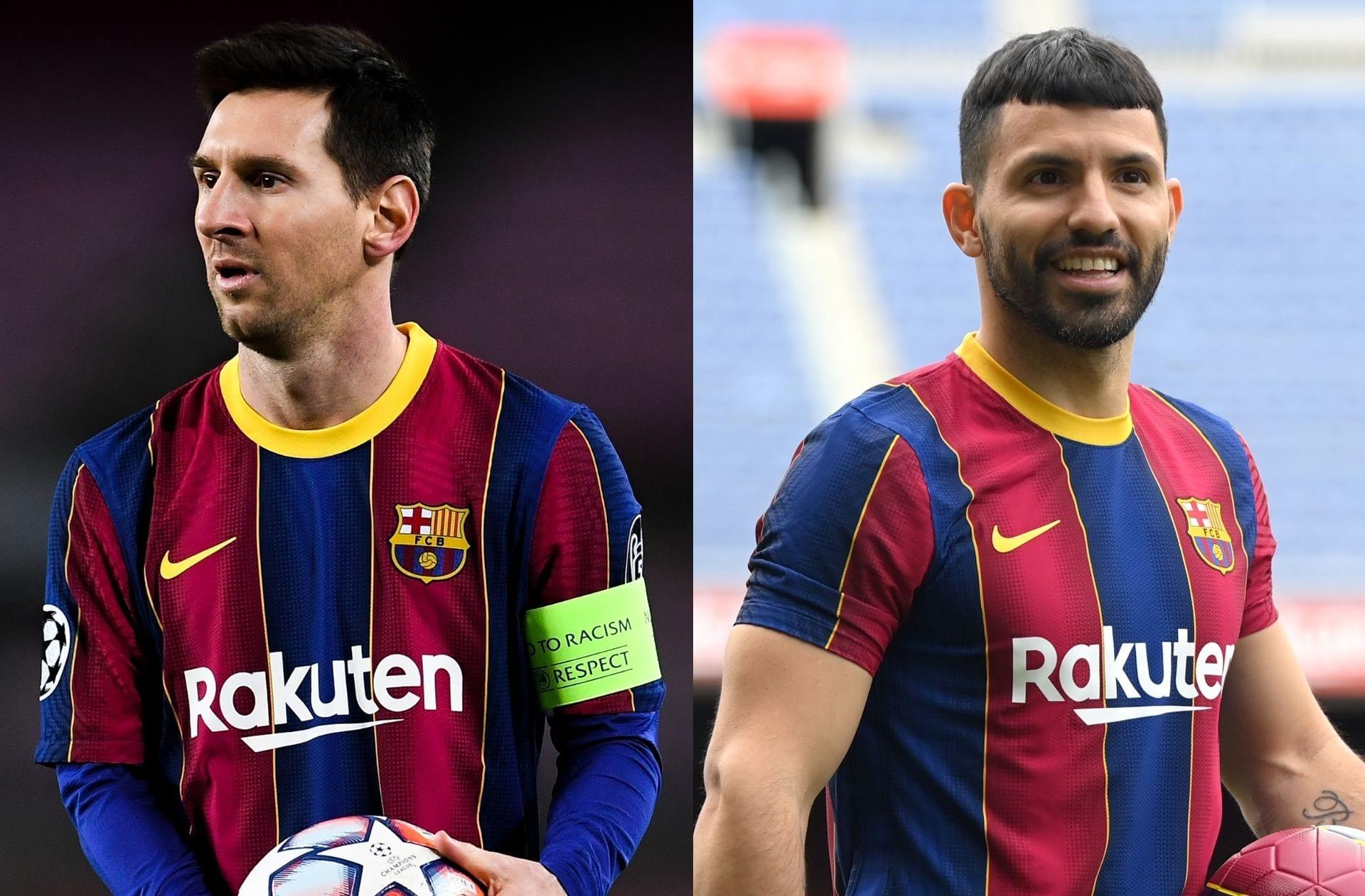 Lionel Messi, Sergio Aguero, FC Barcelona