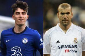Kai Havertz, Zinedine Zidane