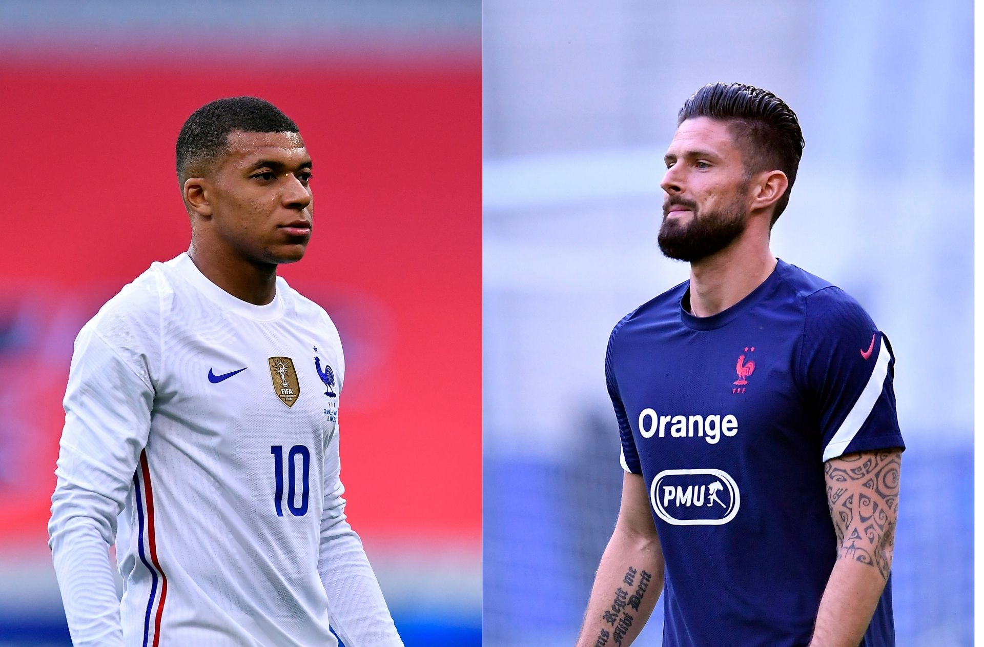 Pogba weighs in on rumored fall-out between Mbappe and Giroud