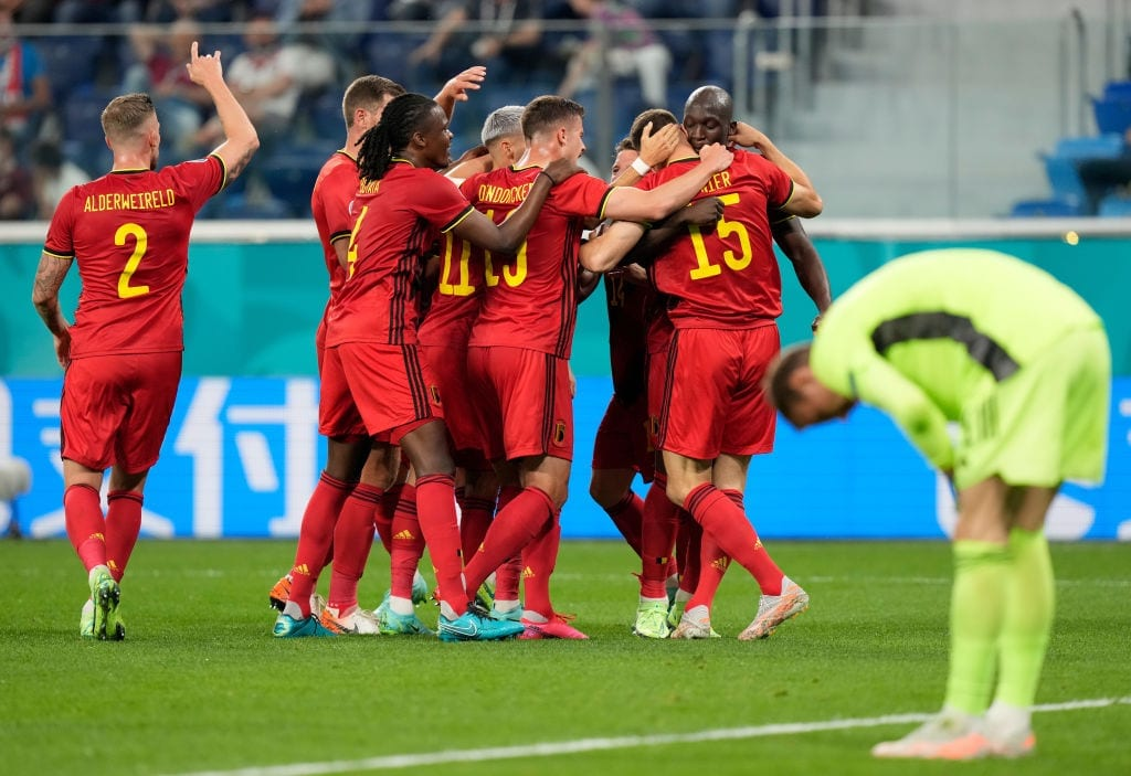 Belgium vs Russia - Euro 2020