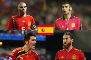 The 25 best Spanish players in history have been named