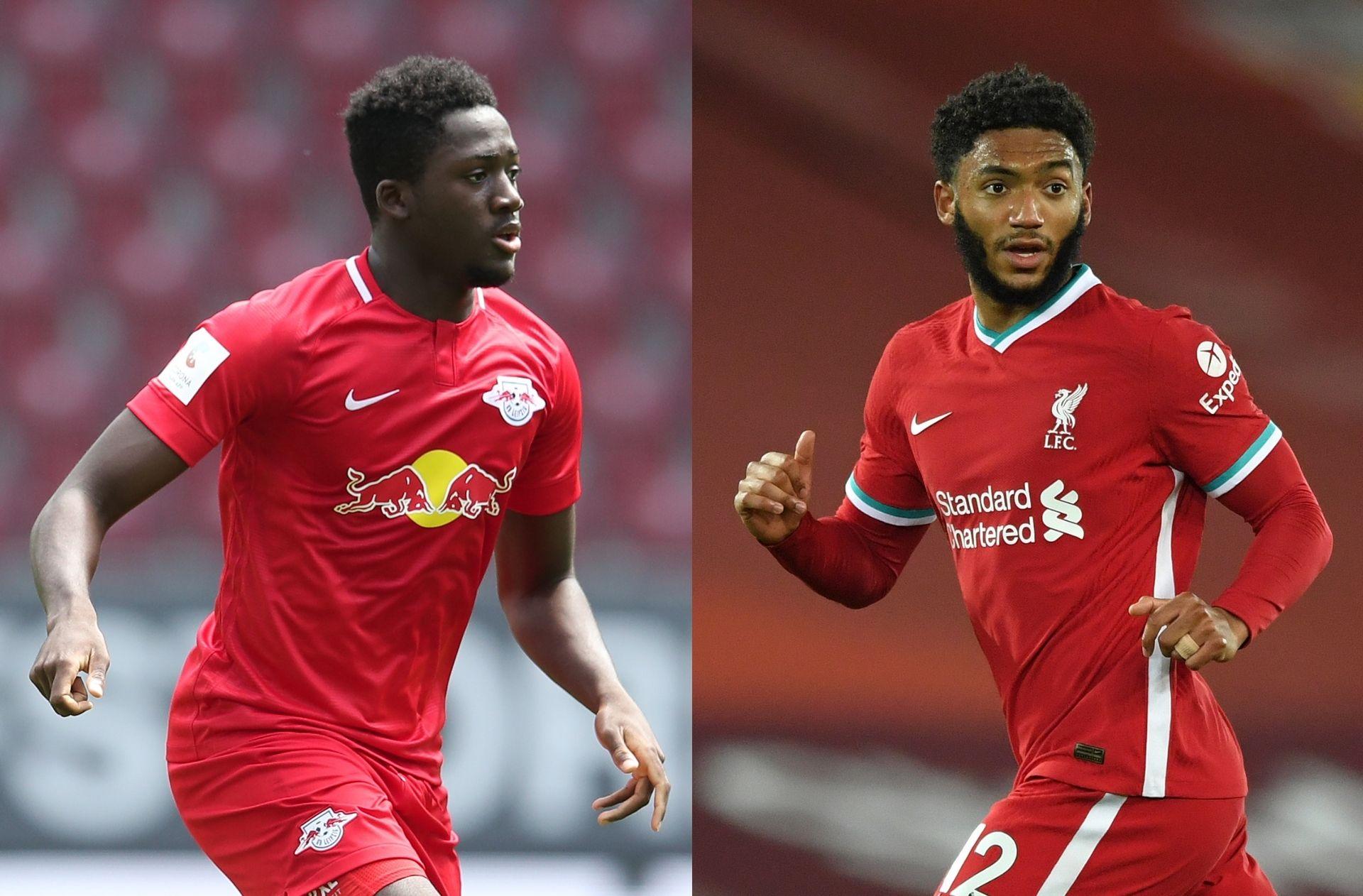 Ibrahima Konate, Joe Gomez - Liverpool