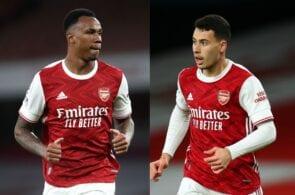 Gabriel Magalhaes, winger Gabriel Martinelli - Arsenal & Brazil