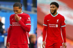 Virgil van Dijk, Joe Gomez - Liverpool