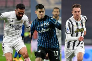 Dani Carvajal Real Madrid, Cristian Romero - Atalanta, Aaron Ramsey - Juventus