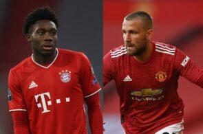Alphonso Davies - Bayern Munich, Luke Shaw - Manchester United