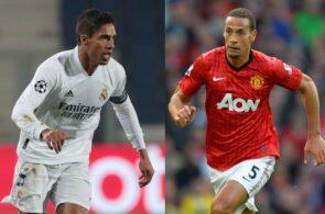 Raphael Varane - Real Madrid, Rio Ferdinand - Man United