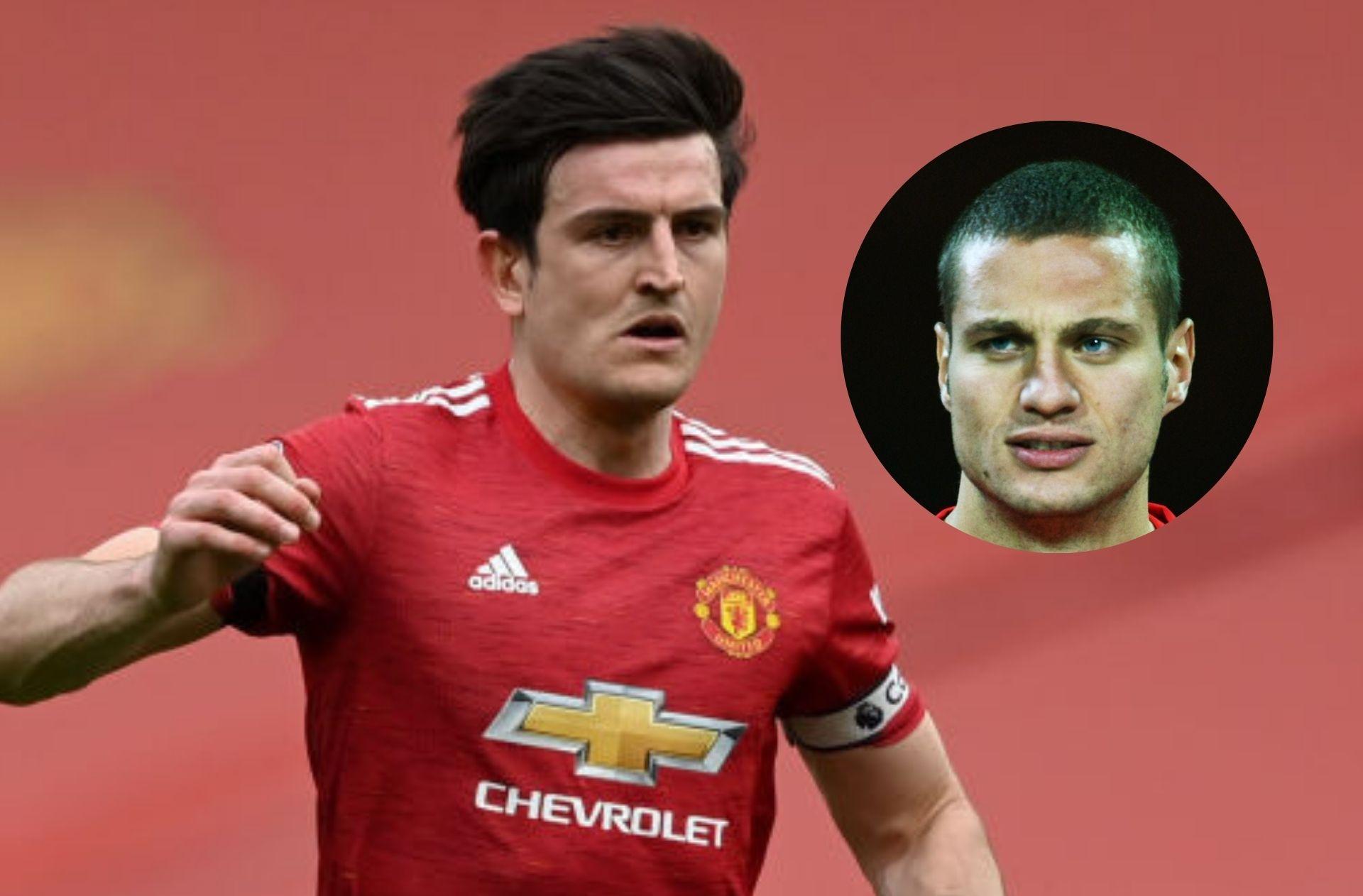 Harry Maguire, Nemanja Vidic - Manchester United