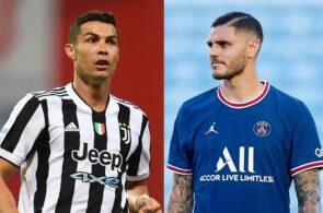 Cristiano Ronaldo - Juventus, Mauro Icardi - PSG