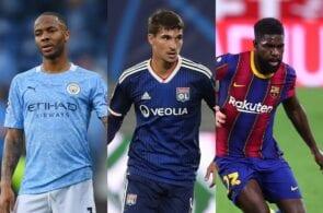 Sterling - Man City, Auoar - Lyon, Umtiti - Barcelona