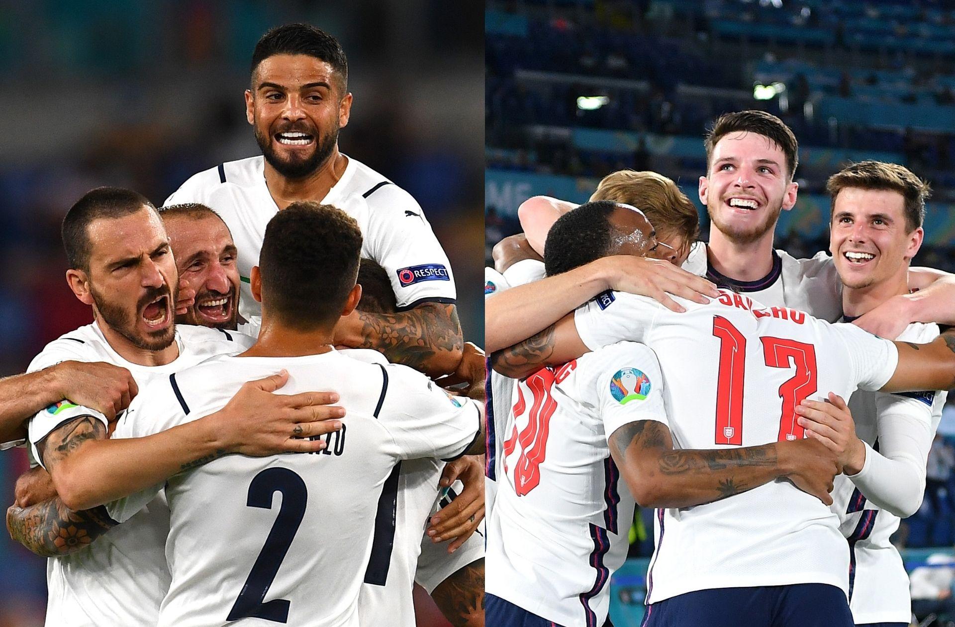 Italy, England - Euro 2020