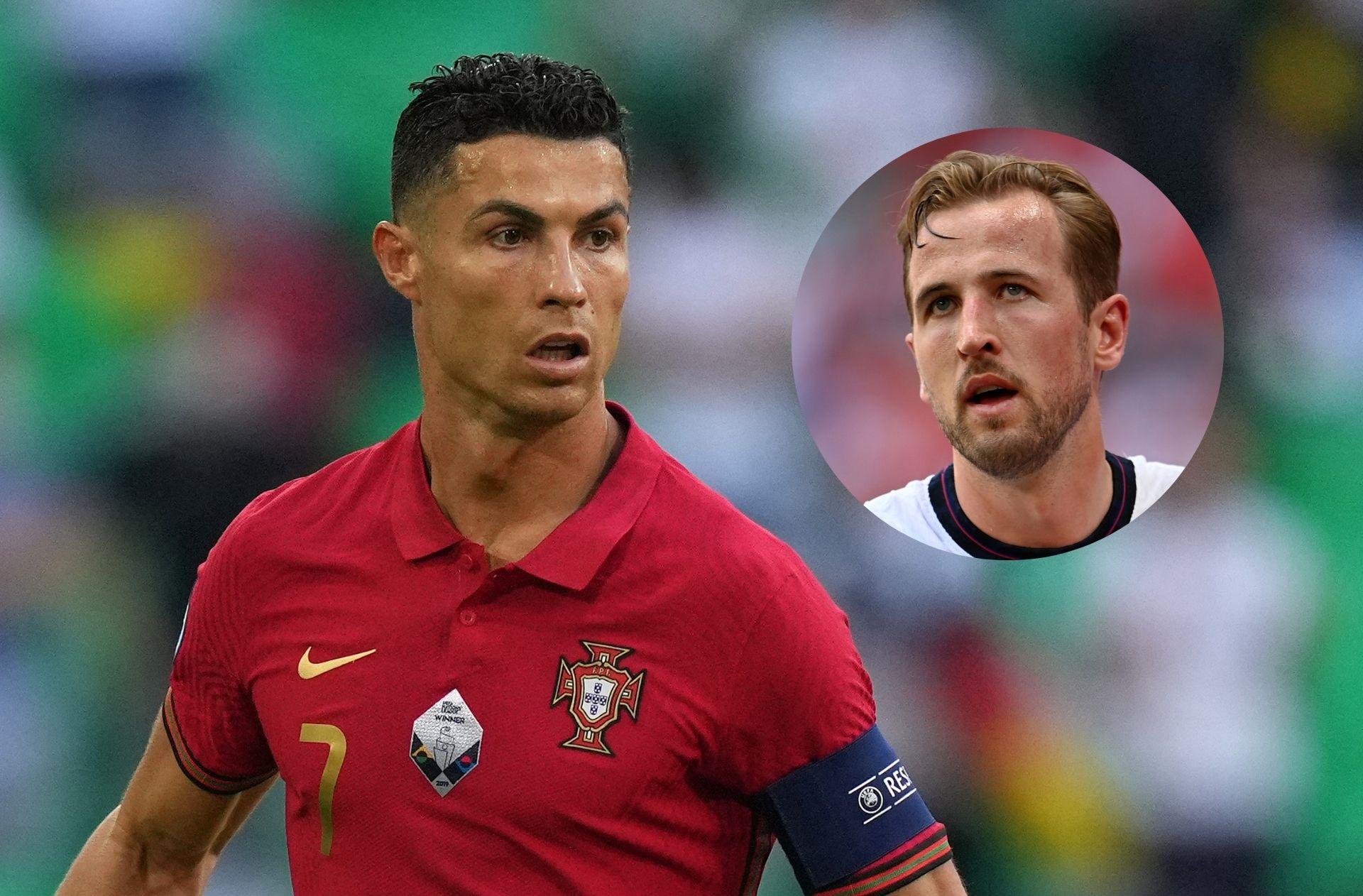 Kane - England, Ronaldo - Portugal