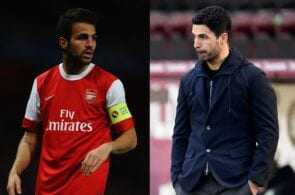 Cesc Fabregas, Mikel Arteta, Arsenal
