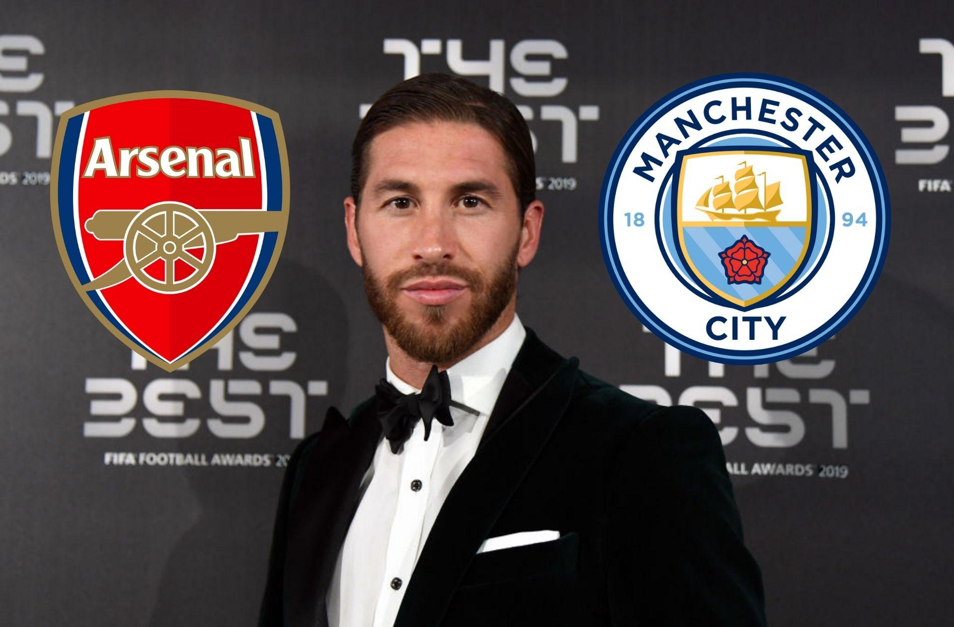 Sergio Ramos, Arsenal, Manchester City