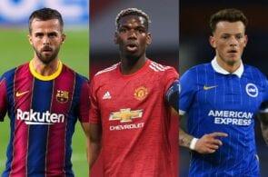 Miralem Pjanic, Paul Pogba, Ben White, transfer