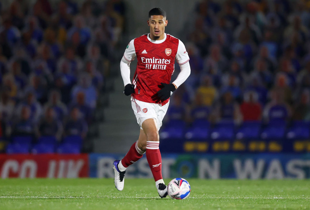William Saliba, Arsenal