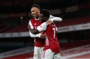 Pierre-Emerick Aubameyang, Bukayo Saka, Arsenal