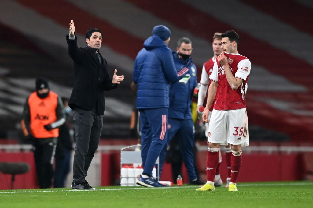 Mikel Arteta, Gabriel Martinelli, Arsenal