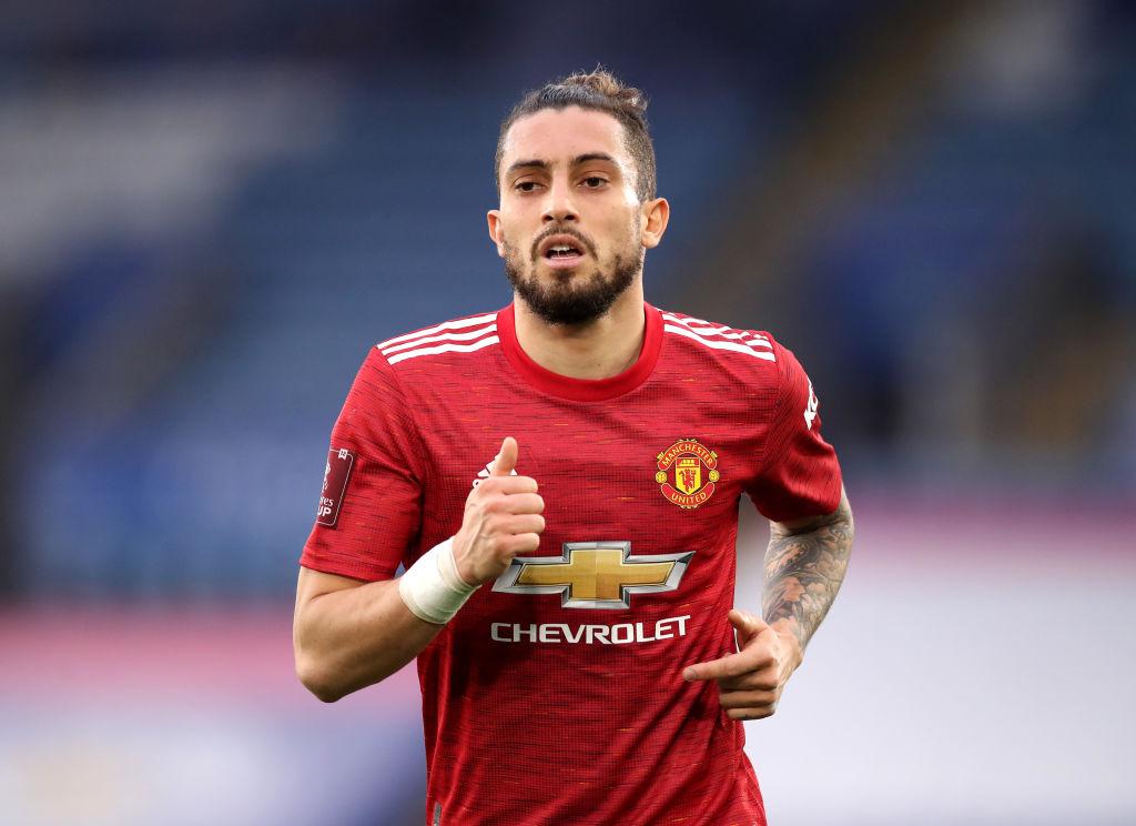 Alex Telles - Man United