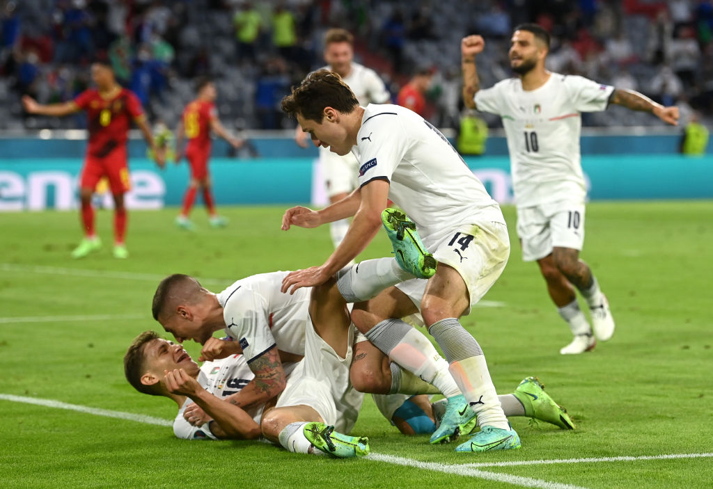 Belgium vs Italy - Euro 2020