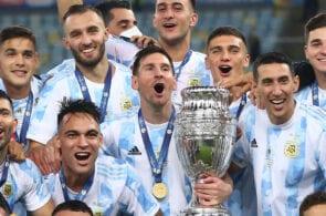 Lionel Messi, Angel Di Maria, Argentina