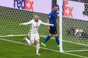 Luke Shaw - Italy vs England: Euro 2020 final