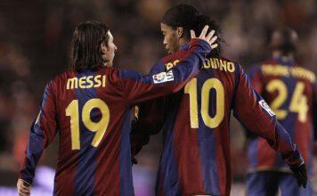 Ronaldinho, Lionel Messi