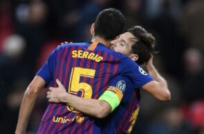 Sergio Busquets & Lionel Messi - FC Barcelona
