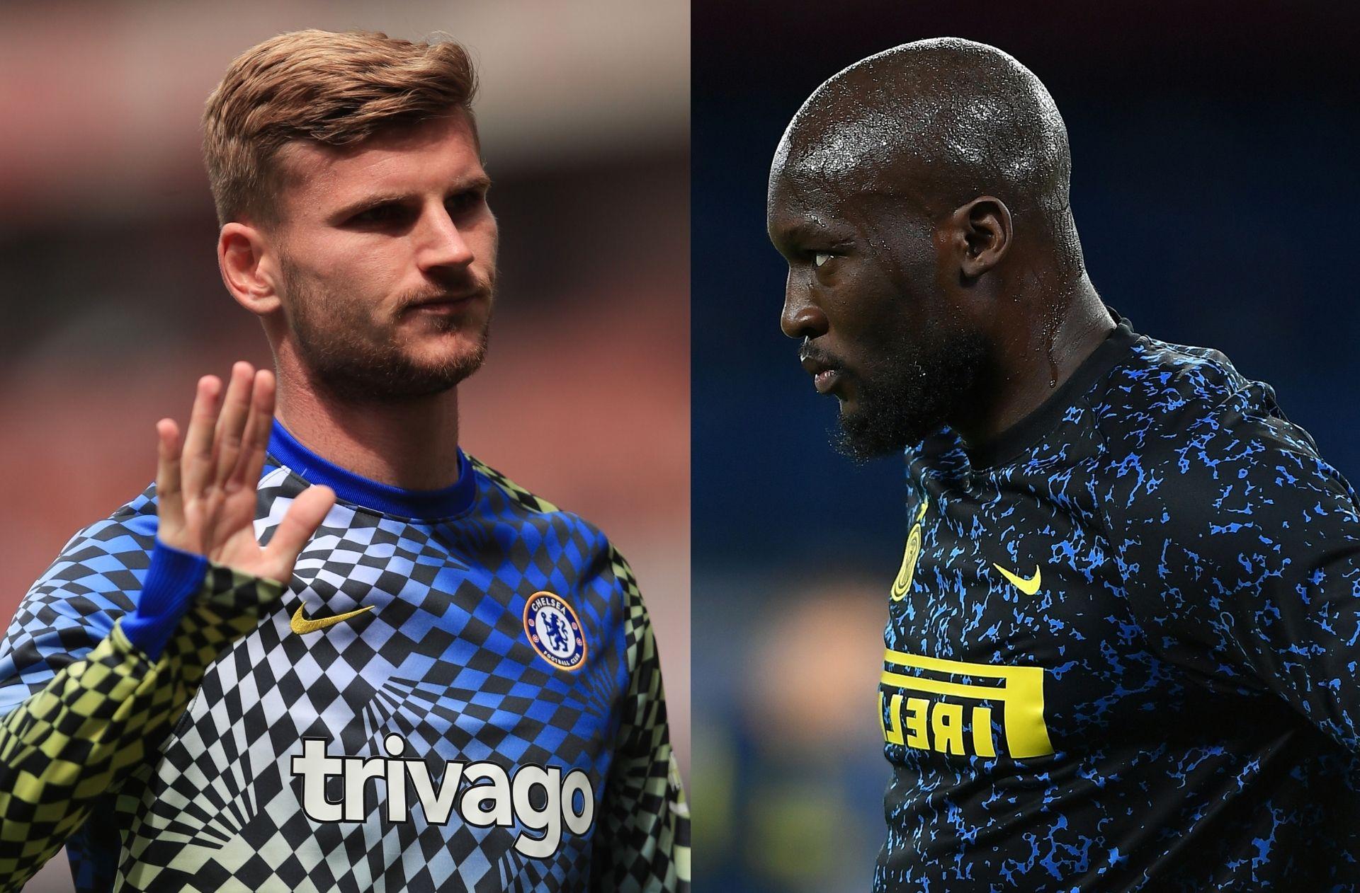 Timo Werner - Chelsea, Romelu Lukaku - Inter Milan