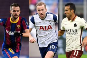 Pjanic - Barcelona, Kane - Tottenham, Pedro - Roma