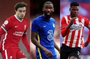 Shaqiri - Liverpool, Rudiger - Chelsea, Dumfries - PSV