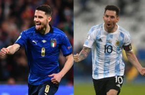 Jorginho - Italy, Messi - Argentina